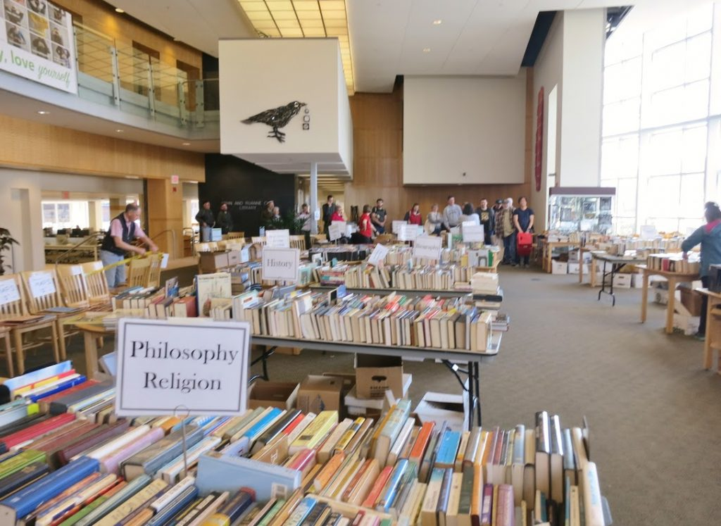 2016 FMTL Book Sale at the Opie Library